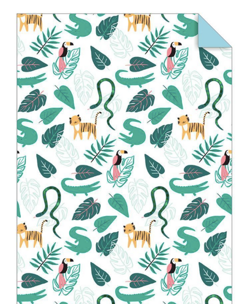 Go Wild Wrapping Paper - Party, Girl!
