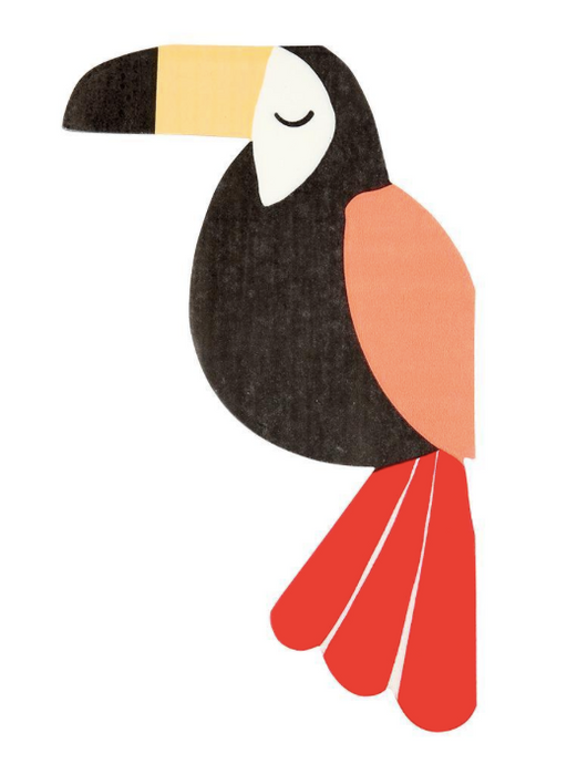 Go Wild Toucan Napkins - Party, Girl!
