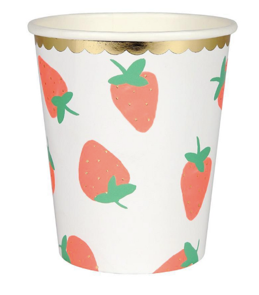 Strawberry Cups - Party, Girl!