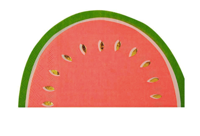 Watermelon Napkins - Party, Girl!
