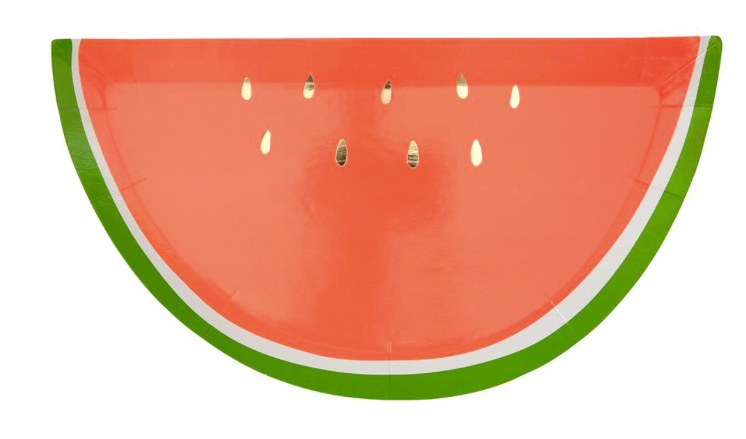 Watermelon Plates - Party, Girl!