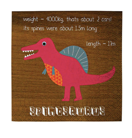 Dinosaur Napkins (Small) - Party, Girl!