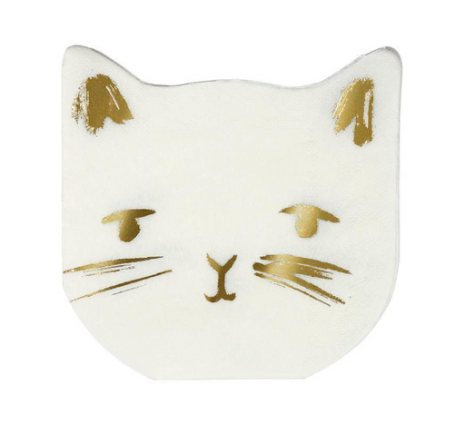 Cat Napkins - Party, Girl!