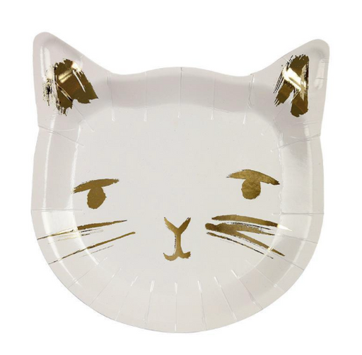Cat Plates - Party, Girl!
