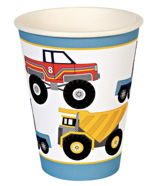 Big Rig Party Cups - Party, Girl!