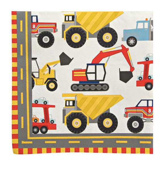 Big Rig Napkins (Small) - Party, Girl!