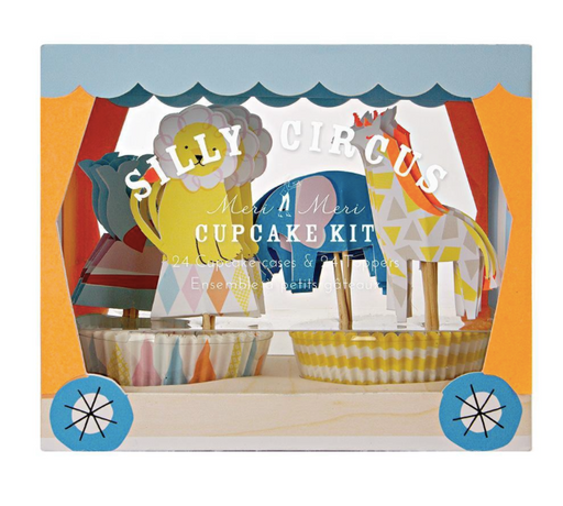 Silly Circus Cupcake Kit - Party, Girl!