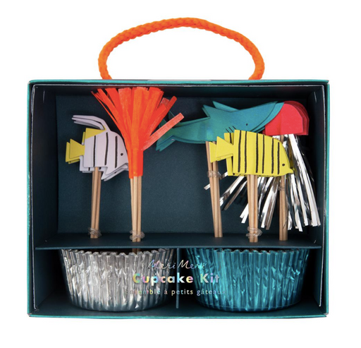 Under the Sea Cupcake Kit - Party, Girl!