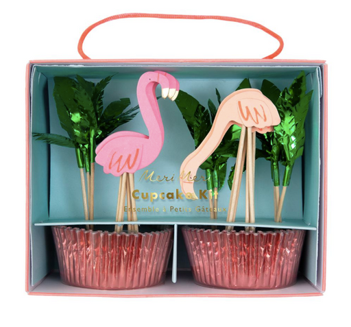 Flamingo Cupcake Kit - Party, Girl!