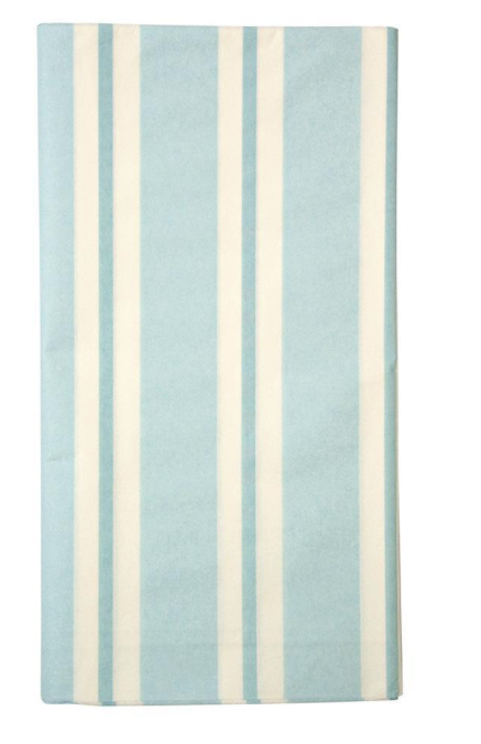 Blue Stripe Tablecloth - Party, Girl!