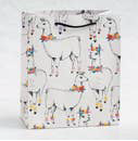 Floral Llama Medium Bag - Party, Girl!