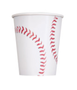 Baseball cups - Party, Girl!