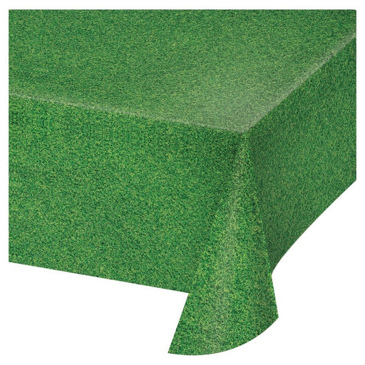 Golf Grass Plastic Table Cover - Party, Girl!