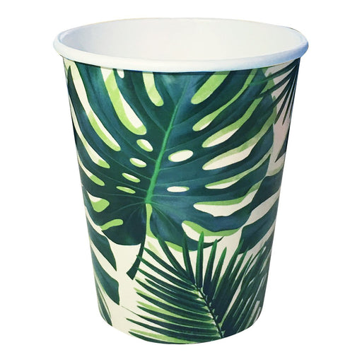 Tropical Fiesta Palm Leaf Paper Cups - Party, Girl!