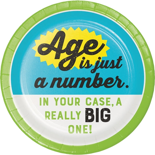 Age Humor Plates - Party, Girl!