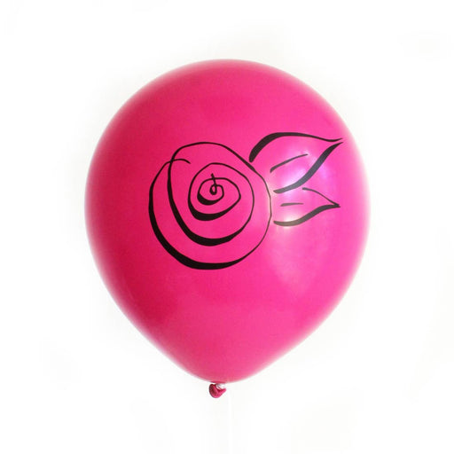 Rosette Latex Balloons - Party, Girl!
