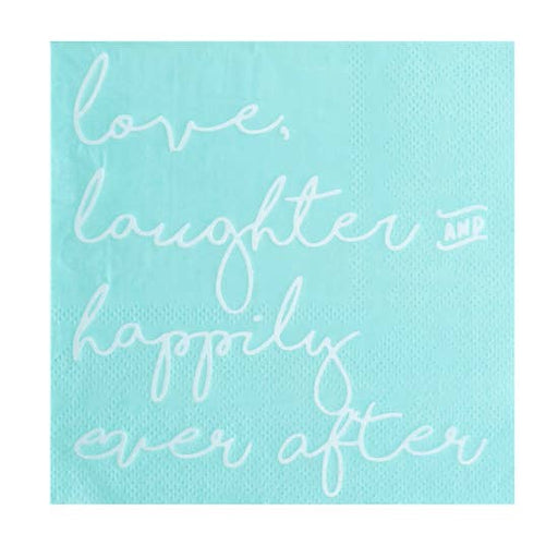Love, Laughter & Happily Ever After Cocktail Napkins - Party, Girl!