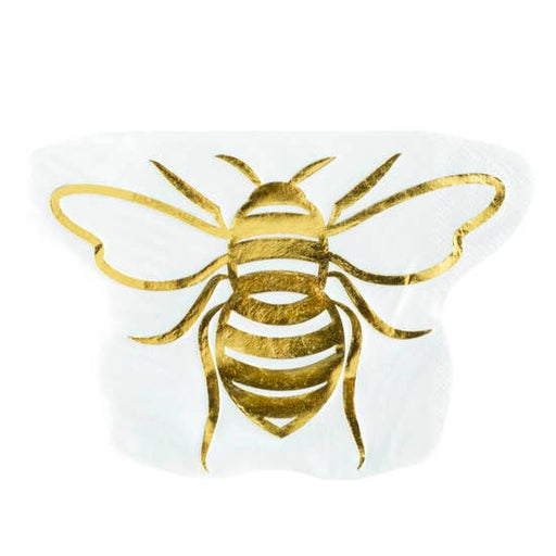 Hey Bae-Bee, Die-Cut Cocktail Napkin - Party, Girl!