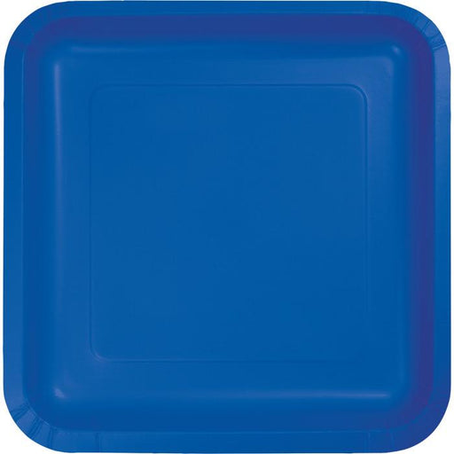 Solid Color Large Plates - Assorted Colors - Party, Girl!