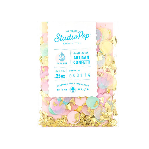 Cupcake Artisan Confetti Mini Pack - Party, Girl!