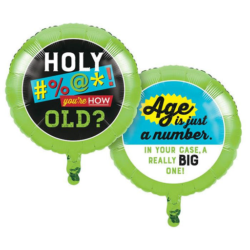 Age Humor Foil Balloon - Assorted Styles - Party, Girl!