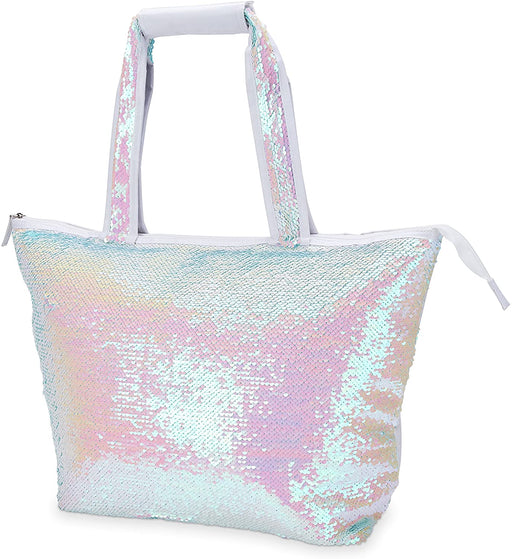 Mermaid Sequin Cooler Tote - Party, Girl!