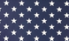 Navy Blue Stars Paper Placemats by Hester & Cook - Party, Girl!