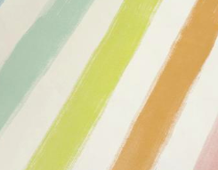 Sherbet Stripe Paper Placemats by Hester & Cook - Party, Girl!