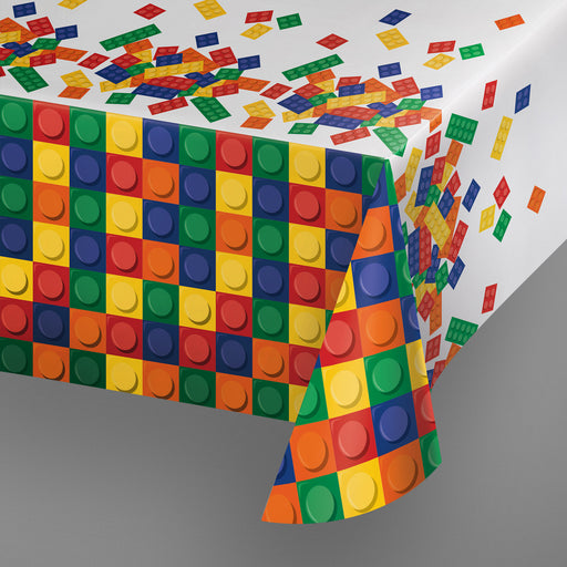 Block Party Plastic Table Covering - Party, Girl!