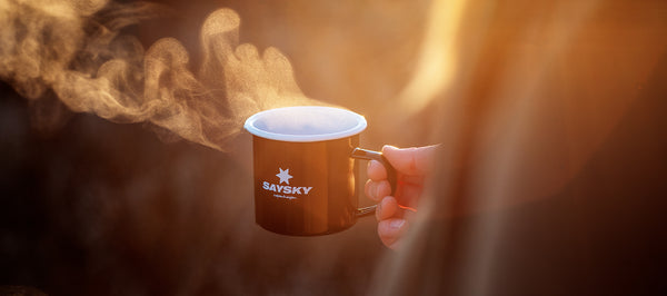 SAYSKY Runners Coffee & Mug