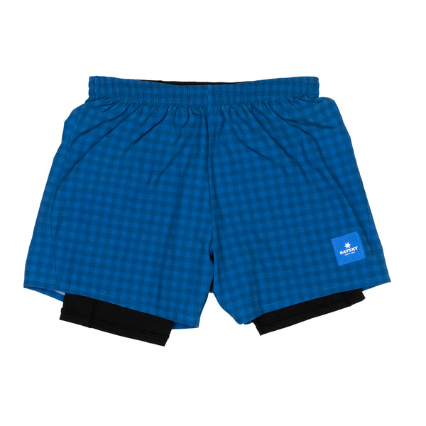 Checker 2 In 1 Shorts