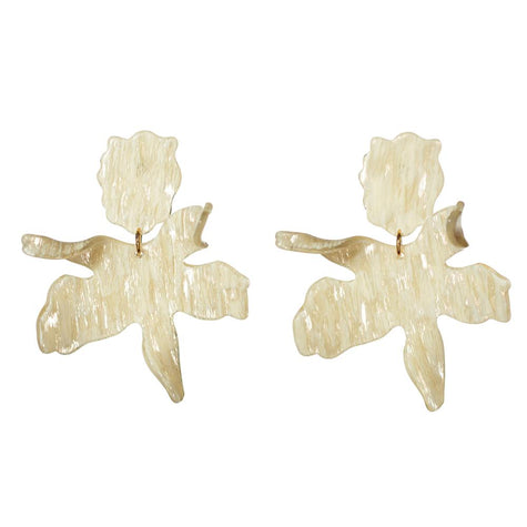Paper Lily Earrings