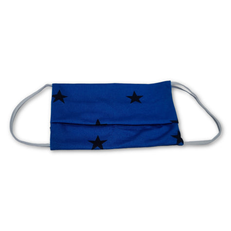ADULT MASK BLUE STAR