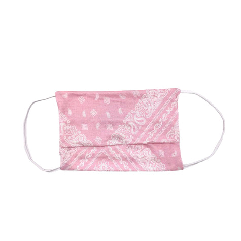 YOUTH MASK PINK BANDANA
