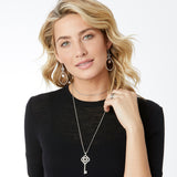 Interlok Large Key Convertible Necklace