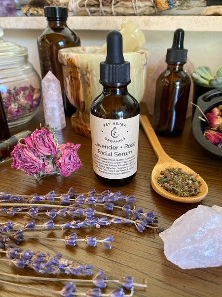 Lavender & Rose Facial Serum