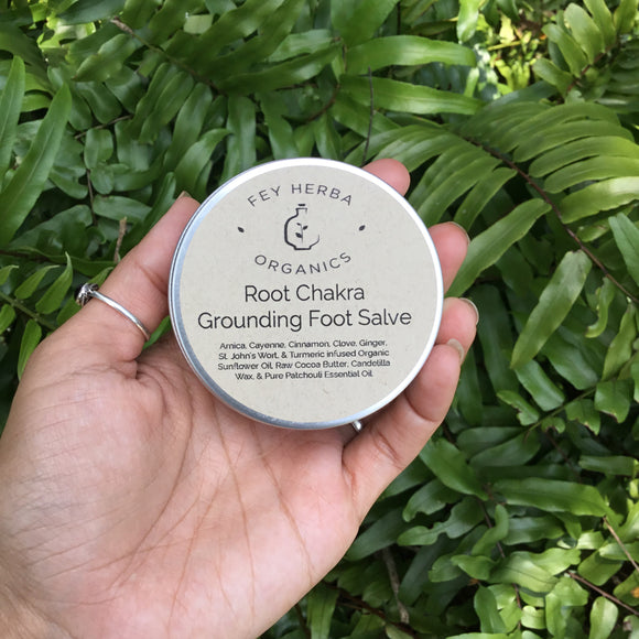 Root Chakra: Grounding Foot Salve