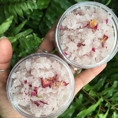 Rose & Gardenia Sugar Scrub