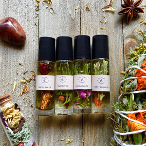 4 New Oils: Protection, Witch's Pot, Guardian, + Earth