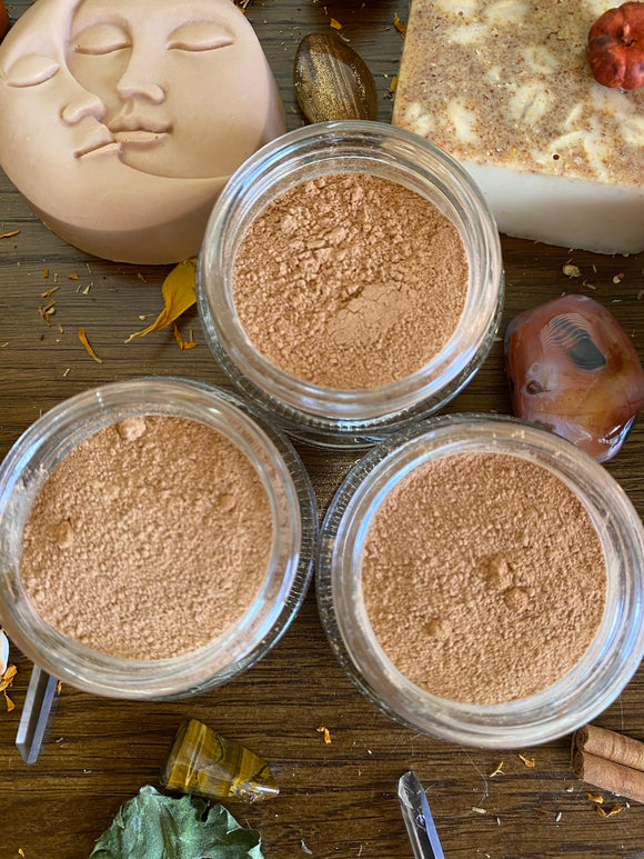 Pumpkin + Petitgrain Clay Mask