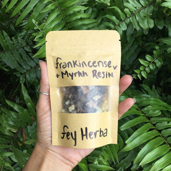 Frankincense + Myrhh Resin