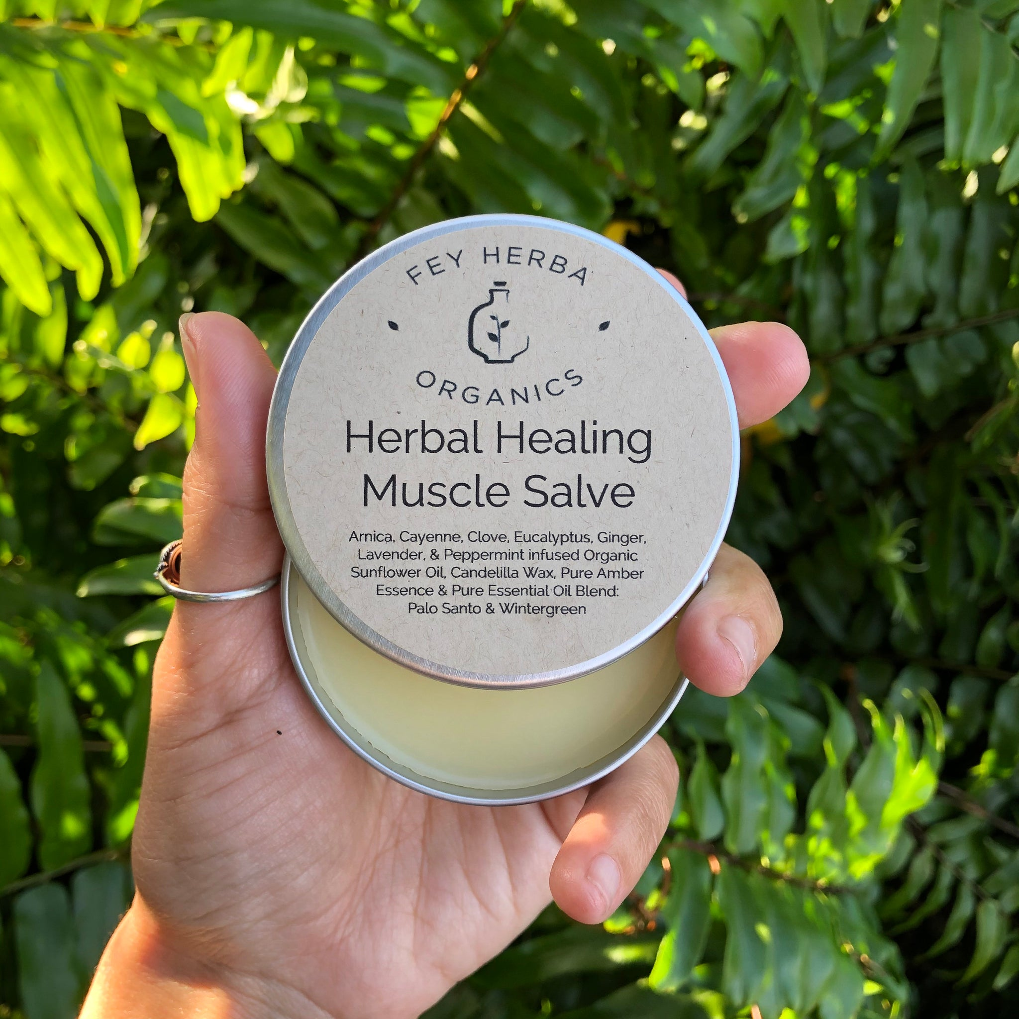 Herbal Healing Muscle Salve