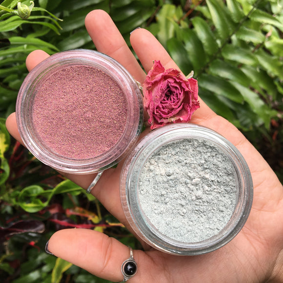 Rose Mask + Spirulina Mask | 2 Types