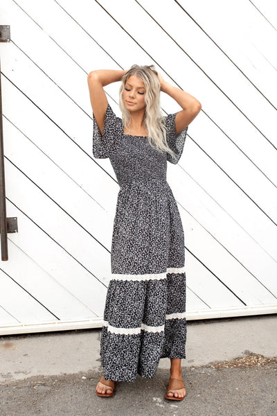 Opposites Attract Maxi Dress