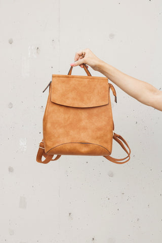 Nova Backpack in Cognac
