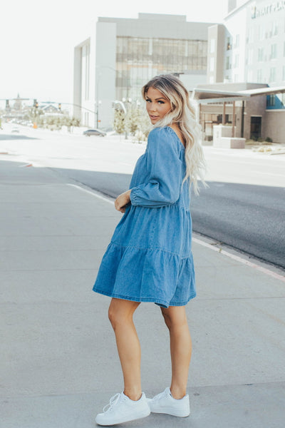 Tiers to the Weekend Ruffle Dress