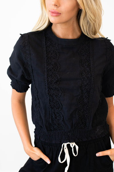 Lace Be Friends Top