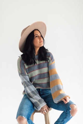 Good Feels Stripe Knit