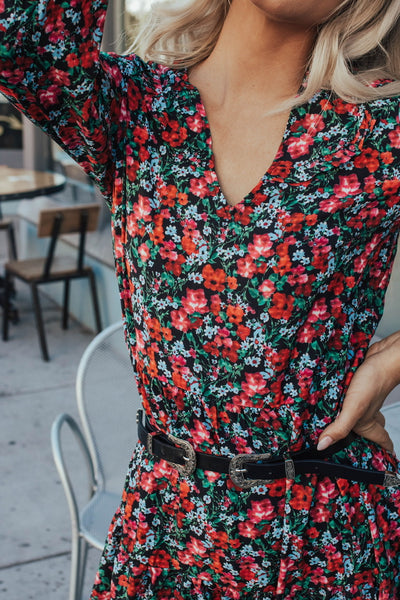 Once and Floral Midi