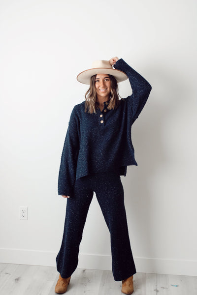 What's Knit To Love Sweater Set